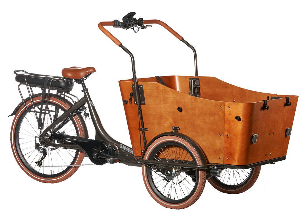 Vogue Bakfiets E Bike Cargo 7versn Midden Motor Max Drive Alu